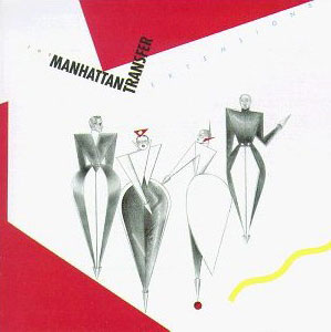 The Manhattan Transfer - Extensions - pochette du disque © Atlantic (label)