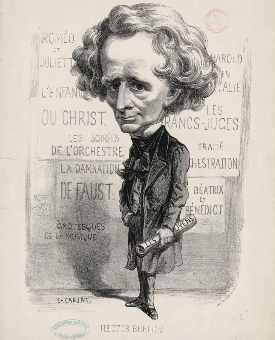 Hector Berlioz / Etienne Carjat © Bnf