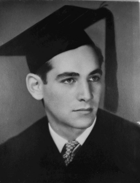 Bernstein diplômé de Harvard, 1939 © Library of Congress