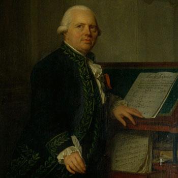 Portrait de François-Joseph Gossec par Antoine Vestier vers 1791 © Jean-Marc Anglès (photo) - Philharmonie de Paris - Musée de la musique