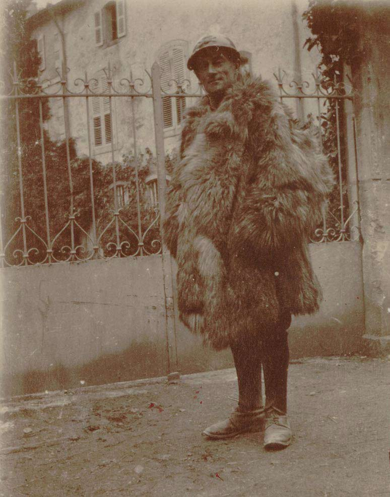 Maurice Ravel en soldat, 1916 © BnF