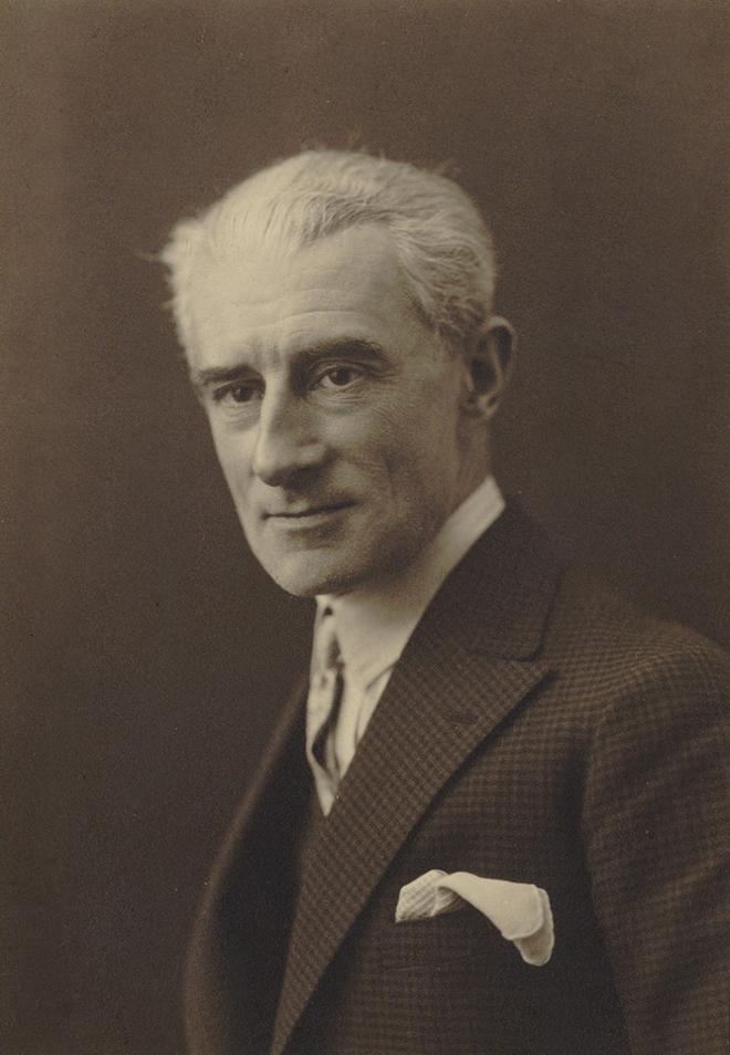 Portrait de Maurice Ravel, 1925. Gallica-BnF