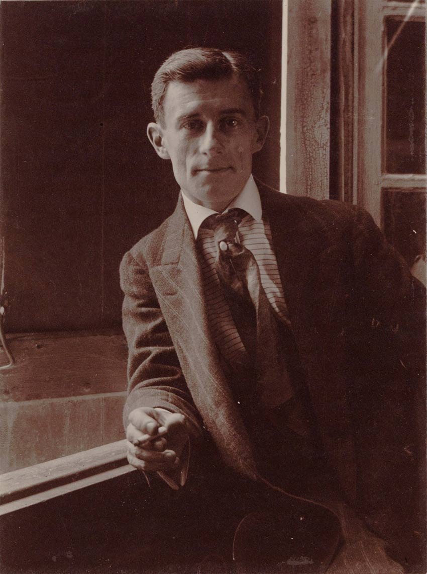 Portrait photo de Maurice Ravel