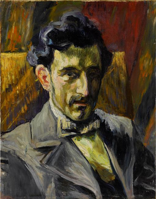 Portrait de Maurice Ravel par Manquin Henri © Philippe Migeat Centre Pompidou RMN GP Adagp