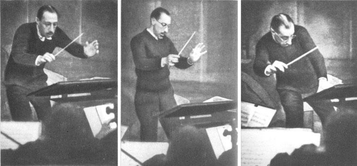 Stravinski Igor 1929 par F. Man © DR