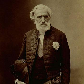 Portrait du compositeur Ambroise Thomas, par Nadar © Philharmonie de Paris, J.-M. Anglès