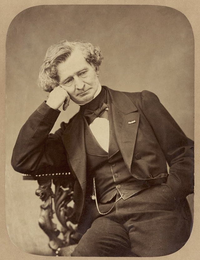 Portrait du musicien Hector Berlioz © Bnf - par Pierre Petit