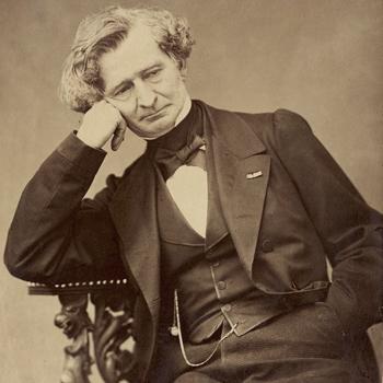 Hector Berlioz, photo de Pierre Petit, 1863. Gallica-BnF