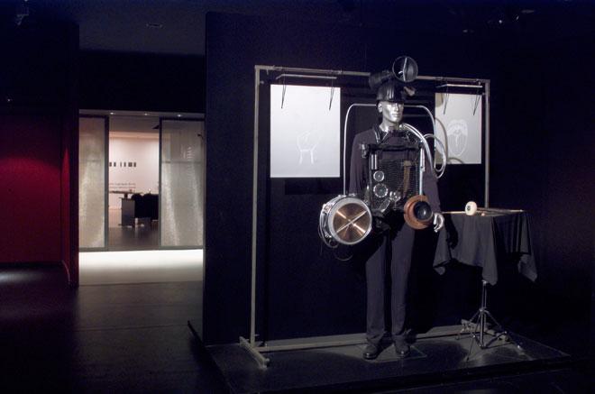 Vue de l'exposition Electric Body, le corps en scène © Cité de la musique