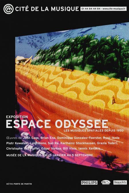Espace Odyssée, les musiques spatiales depuis 1950
