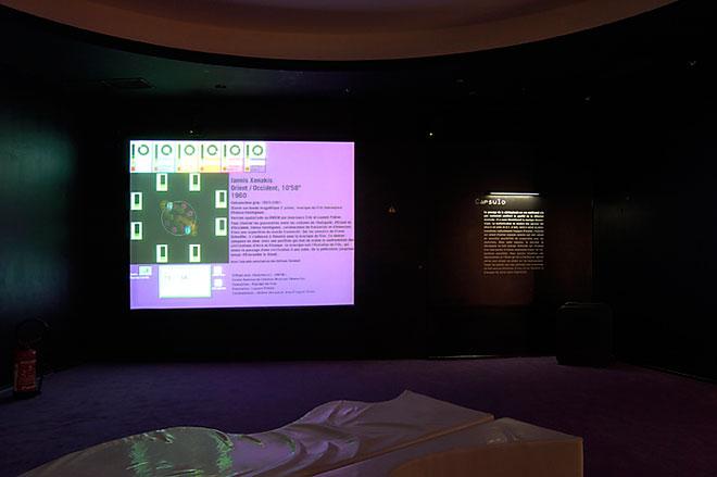 Vue de l'exposition Espace Odyssée ;© Cité de la musique
