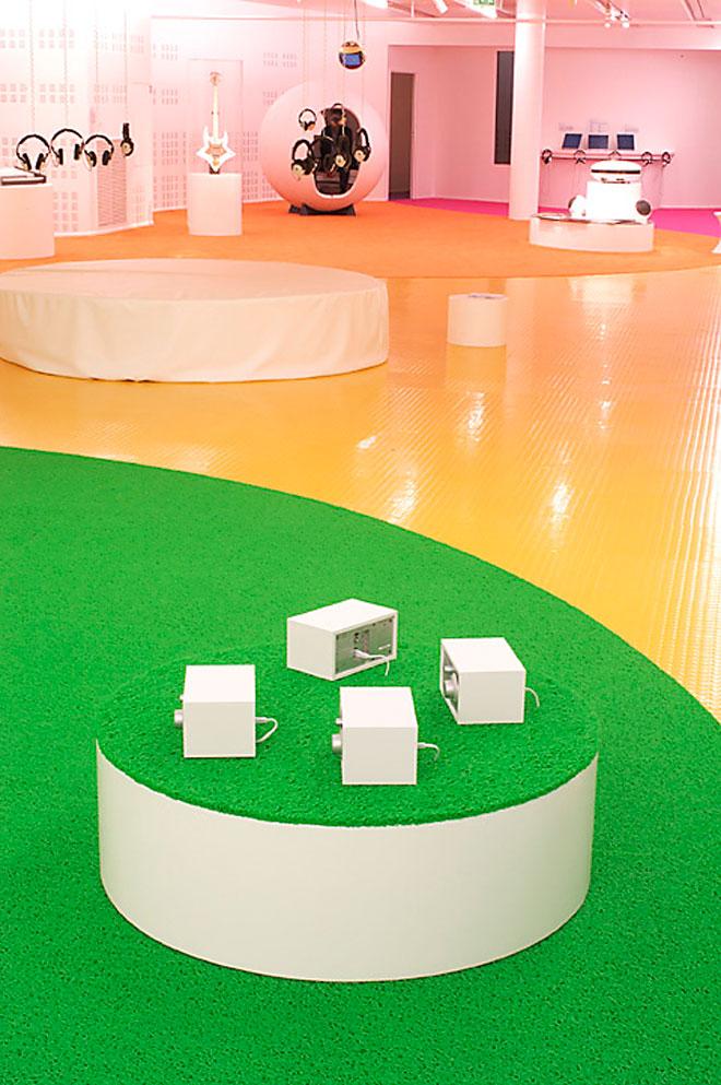 Vue de l'exposition Espace Odyssée© Cité de la musique