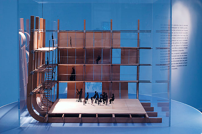 Maquette pour Prometeo, opéra de Luigi Nono, Renzo Piano, 1984© Cité de la musique