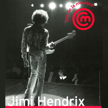 Exposition Jimi Hendrix Backstage © Musée de la musique, Cité de la musique