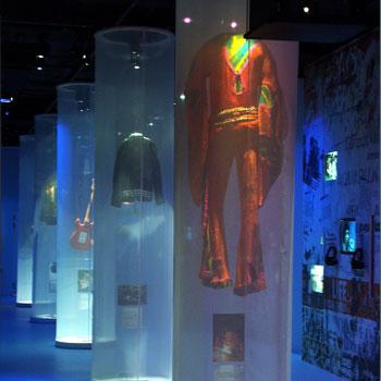 Exposition du Musée de la musique, Jimi Gendrix Backstage