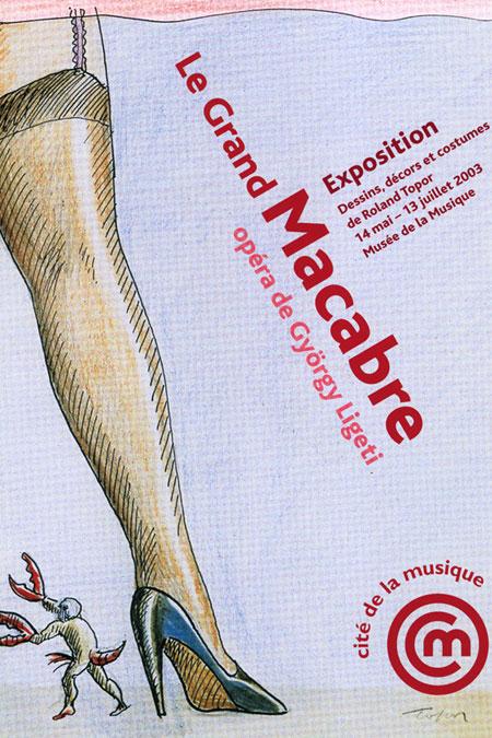 Exposition Le Grand Macabre à la Philharmonie de Paris |