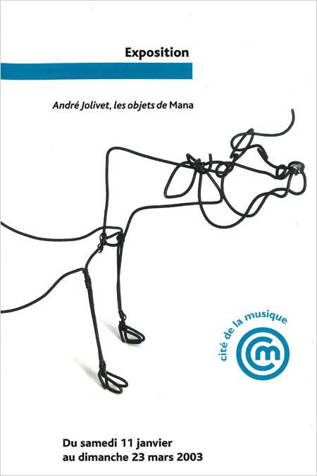 Exposition André Jolivet, les objets de Mana à la Cité de la Musique - Philharmonie de Paris |