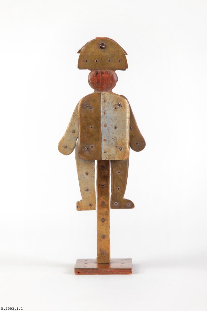 Vue de l'exposition André Jolivet, objets de Mana à la Cité de la musique