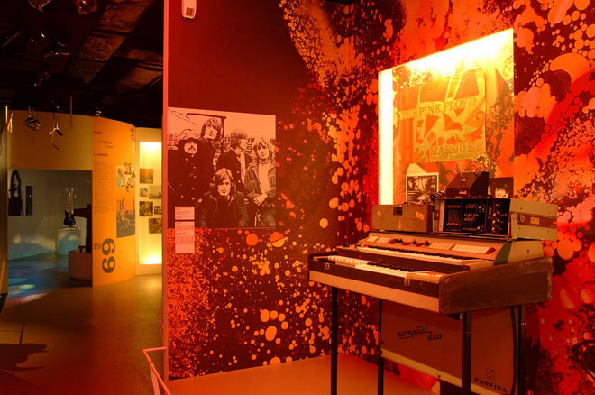 Vue de l'exposition - Pink Floyd Interstellar © Cité de la musique