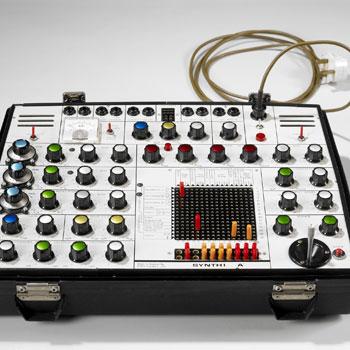 Instrument électronique, Synthétiseur Synthi A - EMS Londres, Royaume-Uni 1971