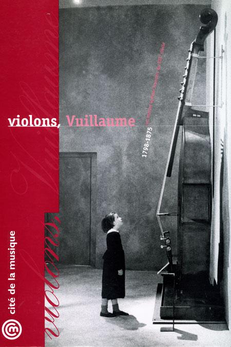 Affiche exposition Violons Vuillaume, un maître luthier français de XIXeme siècle © Cité de la musique - Philharmonie de Paris