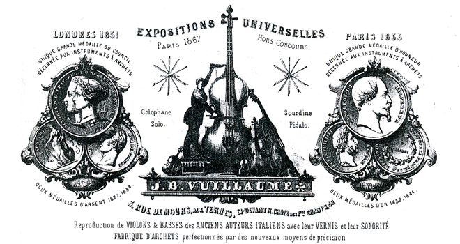 Exposition Violons Vuillaume, Facture Vuillaume 1872 © Archives Nationales