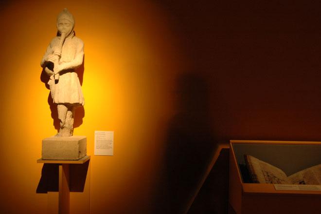 Vue de l'exposition Moyen-Âge, entre ordre et désordre -  © Cité de la musique