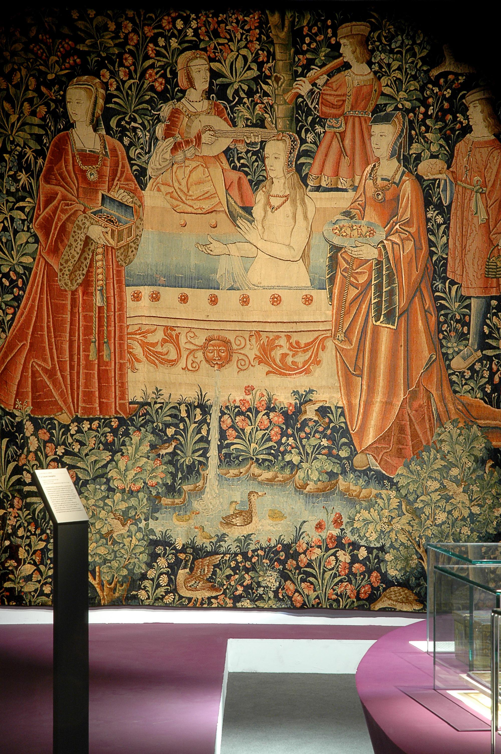Vue de l'exposition Moyen-Âge, entre ordre et désordre © Cité de la musique