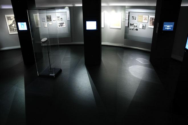 Vue de l'exposition troisième Reich © Agathe Cazard - Cité de la musique