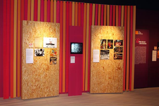 Vue de l'exposition Musique Populaire Brésilienne  © Cité de la musique