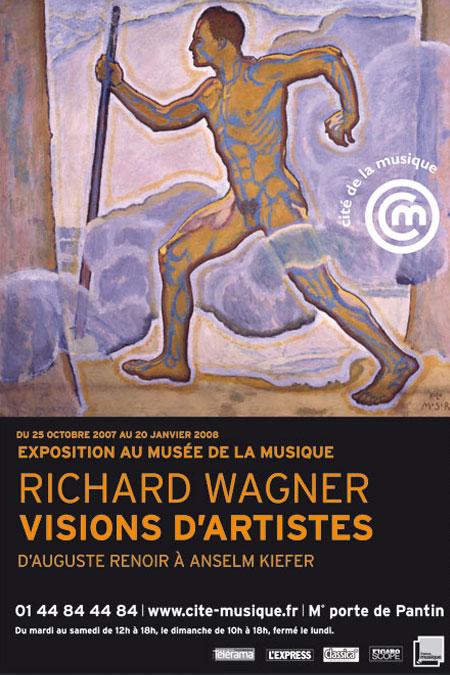 Affiche de l'exposition Richard Wagner : visions d'artistes © Cité de la Musique - Philharmonie de Paris
