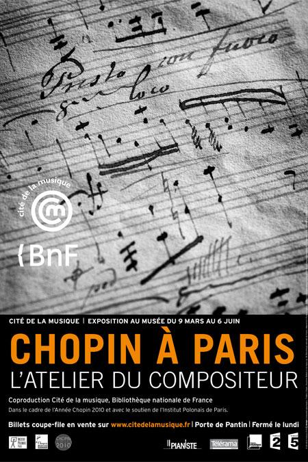 Chopin à Paris, l'atelier du compositeur