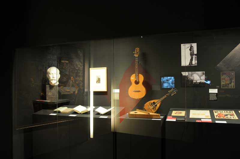 Exposition Lénine, Staline et la musique © Léonie Young, Cité de la musique