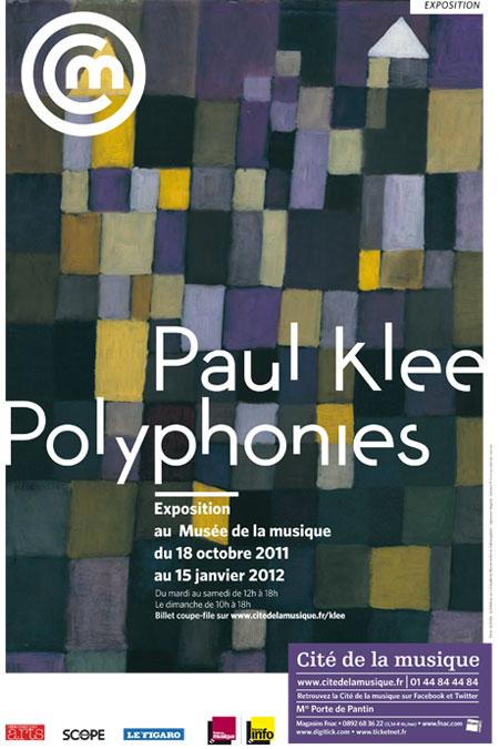 Exposition Paul Klee Polyphonies à la Philharmonie de Paris |
