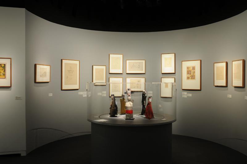 Vue de l'exposition Paul Klee Polyphonies, © Leonie Young, Cité de la musique