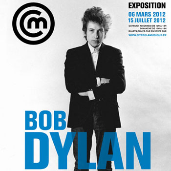 Exposition Bob Dylan l'explosion rock 61-66