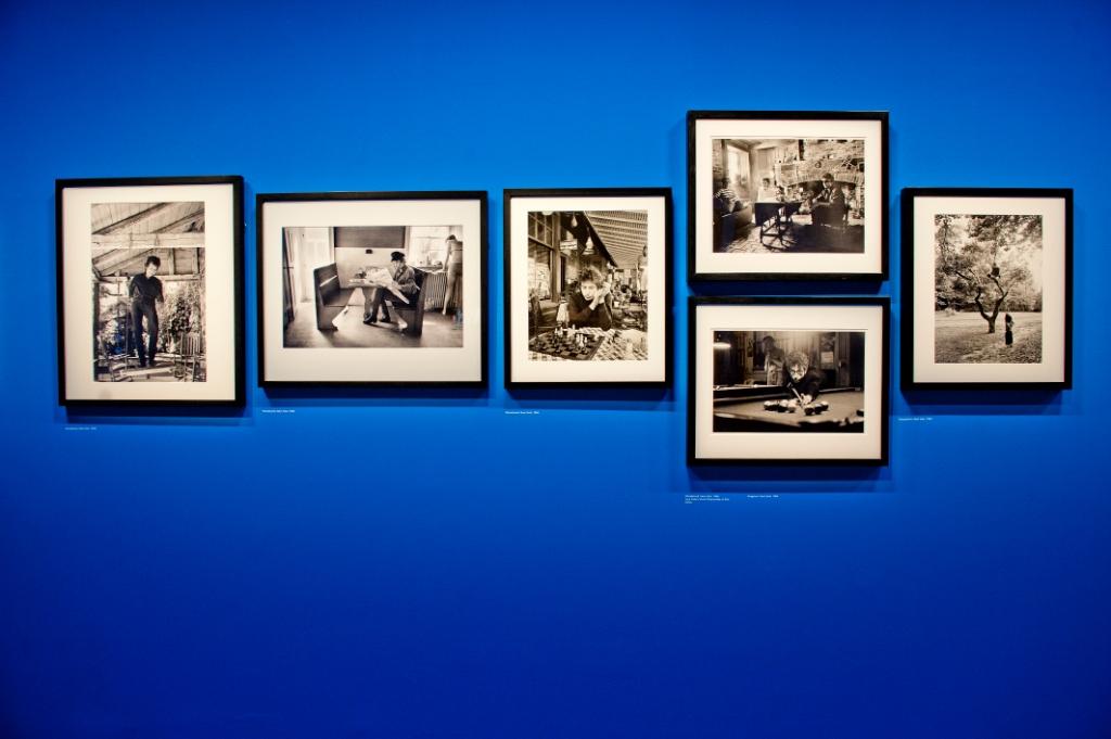 Vue de l'exposition Bob Dylan, Cité de la musique - Robert Zimmerman © William Beaucardet