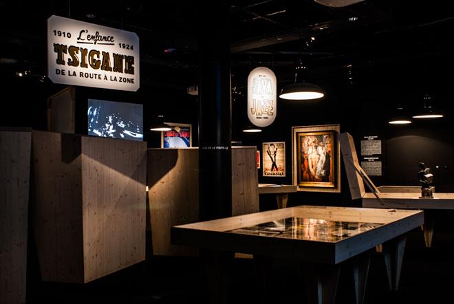 Exposition Django Reinhardt, Les Tsiganes, entre rejet et fascination © Matthias Abhervé