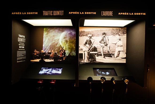 Vue de l'exposition - Traffic Quintet © Matthias Abhervé