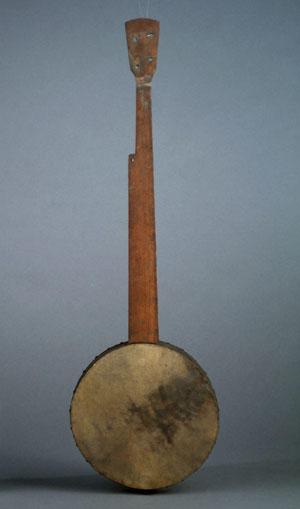 Banjo P. Dubois, Cincinnati, Ohio, avant 1873. Achat Dr. Fau, 1873 (E.553)