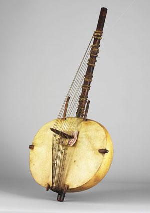Harpe-luth Kasso Sénégambie, avant 1848 (E.412)