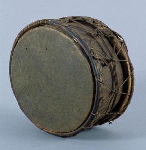 Tambour sur cadre Guyane anglaise, avant 1840 (E.413)