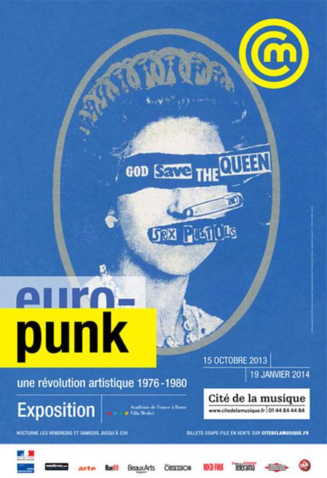 Exposition Europunk Philharmonie de Paris