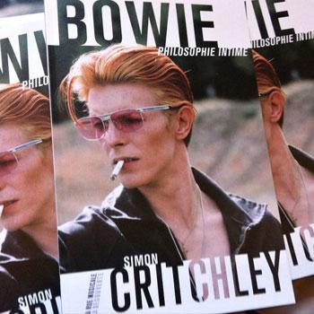 Livre Bowie Philosophie Intime, Coédition Éditions La Découverte / Cité de la musique