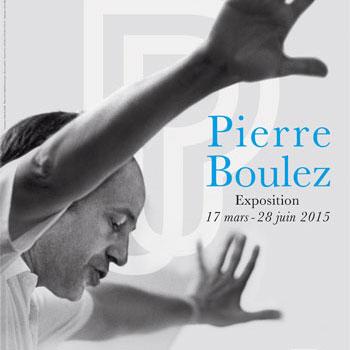 Pierre Boulez - Affiche de l'exposition © Philharmonie de Paris