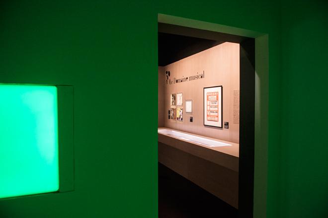 Parcours - Le domaine musical - Exposition Pierre Boulez © William Beaucardet