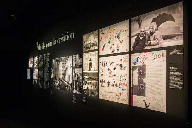 Parcours - Outils pour la création - Exposition Pierre Boulez © William Beaucardet
