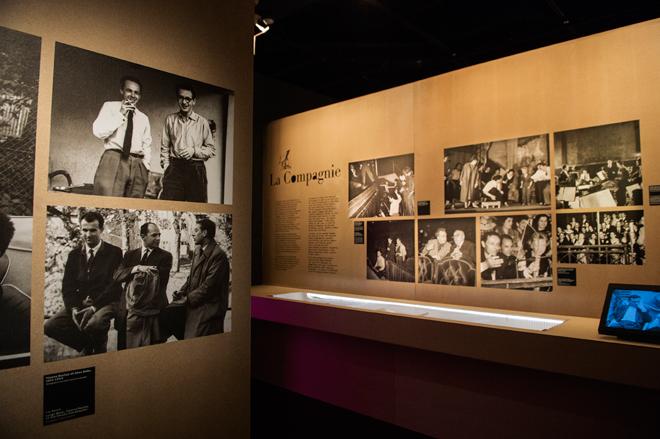 Parcours - La Compagnie - Exposition Pierre Boulez © William Beaucardet
