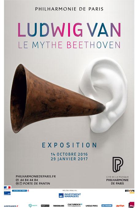 Exposition Ludwig van, le mythe Beethoven à la Philharmonie de Paris |