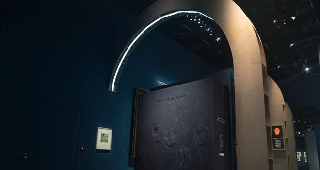 Vue de l'exposition Ludwig van le mythe Beethoven - L'écoute intérieur © Matthias Abhervé
